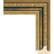 Деревянный багет NA003.1.099, ш: 5.2см в: 3.5см, фото 1