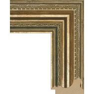 Деревянный багет NA004.1.008, ш: 6.7см в: 4см, фото 1