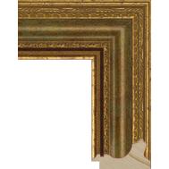 Деревянный багет NA004.1.010, ш: 6.7см в: 4см, фото 1