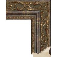 Деревянный багет NA023.1.241, ш:7.9 см в: 4.9см, фото 1
