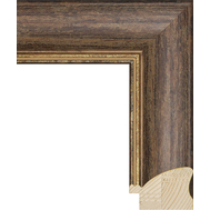 Деревянный багет NA031.0.336, ш: 5.7см в: 3.9см, фото 1