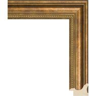 Деревянный багет NA033.1.166, ш: 3.8см в: 2.6см, фото 1