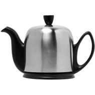 Чайник фарфоровый Guy Degrenne Salam, с ситечком, черный, 0.7л - арт.211992, фото 1