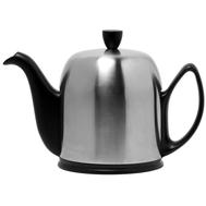 Чайник фарфоровый Guy Degrenne Salam, с ситечком, черный, 1л - арт.211993, фото 1