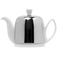 Чайник фарфоровый Guy Degrenne Salam, с ситечком, белый, 0.7л - арт.211988, фото 1