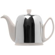 Чайник фарфоровый Guy Degrenne Salam, с ситечком, белый, 1л - арт.211989, фото 1