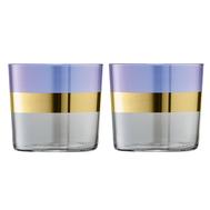 Набор стаканов LSA International Bangle, фиолетовые, 310мл - 2шт - арт.G060-09-197, фото 1