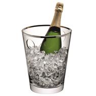 Ведёрко для льда LSA International Savoy, платиновое, 24.5см - арт.G270-24-381, фото 1