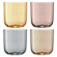 Цветные стаканы LSA International Polka, металлик, 420мл - 4шт - арт.G977-15-960, фото 1
