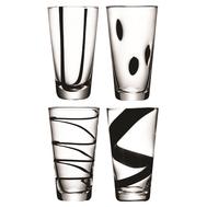Хайболы LSA International Jazz, чёрные, 370мл - 4шт - арт.G088-13-987, фото 1