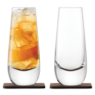 Набор бокалов, на подставке LSA International Whisky Islay, 325мл - 2шт - арт.G1213-11-301, фото 1