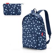 Складной рюкзак Reisenthel Mini maxi, синий, 16х23х2см - арт.AP4044, фото 1