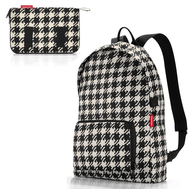 Складной рюкзак Reisenthel Mini maxi, чёрно-белая клетка, 29.3х47х15см - арт.AP7028, фото 1
