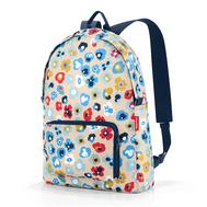 Складной рюкзак Reisenthel Mini maxi, в цветочек, 29.3х47х15см - арт.AP6038, фото 1