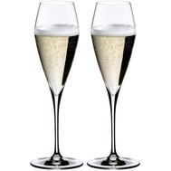 Бокалы для шампанского Champagne Glass Riedel Vitis, 320мл - 2шт - арт.0403/08, фото 1