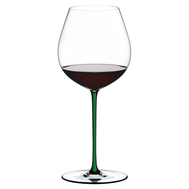 Фужер для вина Old World Pinot Noir Riedel Fatto a Mano, 705мл, зеленая ножка - арт.4900/07G, фото 1