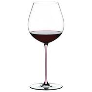 Бокал Old World Pinot Noir Riedel Fatto a Mano, 705мл, розовая ножка - арт.4900/07P, фото 1