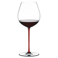 Фужер для вина Old World Pinot Noir Riedel Fatto a Mano, 705мл, красная ножка - арт.4900/07R, фото 1