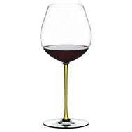 Фужер для вина Old World Pinot Noir Riedel Fatto a Mano, 705мл, желтая ножка - арт.4900/07Y, фото 1