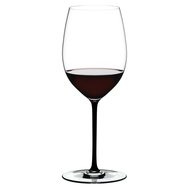 Бокал для красного вина Cabernet/Merlot Riedel Fatto a Mano, 625мл, черная ножка - арт.4900/0B, фото 1