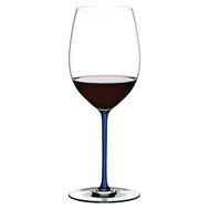Бокал для вина Cabernet/Merlot Riedel Fatto a Mano, 625мл, синяя ножка - арт.4900/0D, фото 1