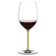 Бокал для красного вина Cabernet/Merlot Riedel Fatto a Mano, 625мл, желтая ножка - арт.4900/0Y, фото 1