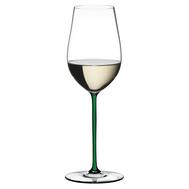Фужер для вина Riesling/Zinfandel Riedel Fatto a Mano, 395мл, зеленая ножка - арт.4900/15G, фото 1