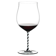 Большой бокал Burgundy Grand Cru Riedel Fatto a Mano, 1050мл, черно-белая ножка - арт.4900/16BWT, фото 1
