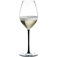 Бокал для шампанского Champagne Wine Glass Riedel Fatto a Mano 445мл, черная ножка - арт.4900/28B, фото 1