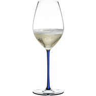 Фужер для шампанского Champagne Wine Glass Riedel Fatto a Mano, 445мл, синяя ножка - арт.4900/28D, фото 1