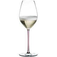 Бокал для шампанского Champagne Wine Glass Riedel Fatto a Mano, 445мл, розовая ножка - арт.4900/28P, фото 1