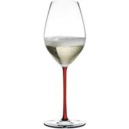 Бокал для шампанского Champagne Wine Glass Riedel Fatto a Mano 445мл, красная ножка - арт.4900/28R, фото 1