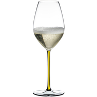 Бокал для шампанского Champagne Wine Glass Riedel Fatto a Mano, 445мл, желтая ножка - арт.4900/28Y, фото 1