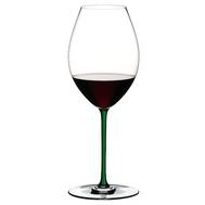 Фужер для красного вина Old World Syrah Riedel Fatto a Mano, 650мл, зеленая ножка - арт.4900/41G, фото 1