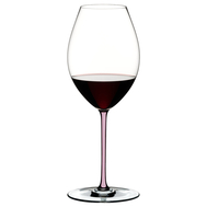 Фужер для вина Old World Syrah Riedel Fatto a Mano, 650мл, розовая ножка - арт.4900/41P, фото 1