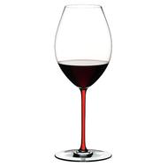 Фужер для вина Old World Syrah Riedel Fatto a Mano 650мл, красная ножка - арт.4900/41R, фото 1