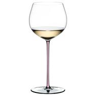 Фужер Oaked Chardonnay Riedel Fatto a Mano, 620мл, розовая ножка - арт.4900/97P, фото 1