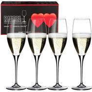 Набор бокалов для шампанского Champagne Glass Riedel Heart To Heart, 330мл - 4шт - арт.5409/08, фото 1