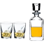 Подарочный набор для виски Louis Riedel: графин и 2 стакана - арт.5515/02 S2, фото 1
