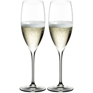 Бокалы для шампанского Champagne Glass Riedel Grape, 285мл - 2шт - арт.6404/28, фото 1