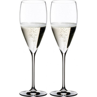 Набор бокалов для шампанского Champagne Glass Riedel Vinum XL, 340мл - 2шт - арт.6416/28, фото 1
