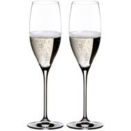 Бокалы для шампанского Cuvee Prestige Riedel Vinum, 230мл - 2шт - арт.6416/48, фото 1