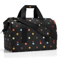 Дорожная сумка Reisenthel Allrounder L, чёрная в цветной горох - арт.MT7009, фото 1