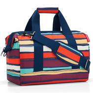 Дорожная сумка Reisenthel Allrounder М, цветные полосы - арт.MS3058, фото 1