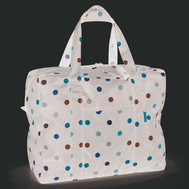 Тканевая сумка Reisenthel Mini maxi touringbag, чёрная в горошек, 49.5х49х20см - арт.AD7009, фото 1