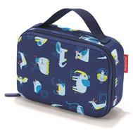 Термосумка детская Reisenthel Thermocase ABC friends, синяя, 20 x 14 x 6,5см - арт.OY4066, фото 1
