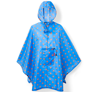 Плащ-дождевик Reisenthel Mini maxi, голубой в горошек, 141х93см - арт.AN4058, фото 1
