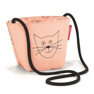 Детская сумка Reisenthel Minibag Cats and dogs, розовая - арт.IV3064, фото 1