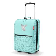 Детский чемодан Reisenthel Trolley Cats and dogs XS, мятный, 29х43х18см - арт.IL4062, фото 1