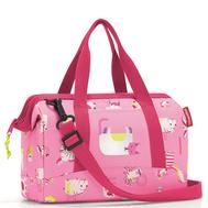 Детская сумка Reisenthel Allrounder XS ABC friends, розовая, 27см - арт.IQ3066, фото 1